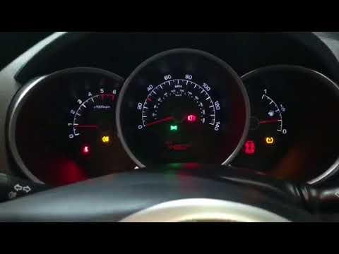 How To Reset Tyre Pressure TPMS on Kia Venga