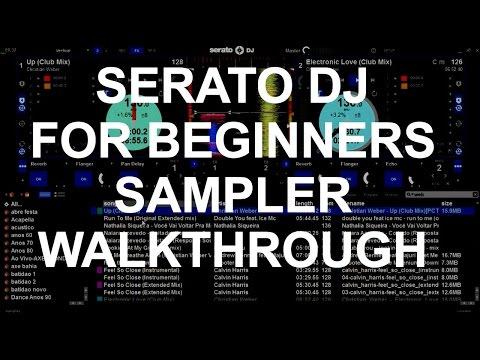 Serato DJ For Beginners - Sampler Walkthrough