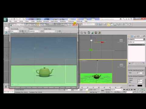 3ds Max Mental Ray Tutorial: Appling Arc & Design Material To Objects