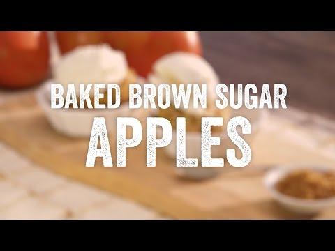 HT Organics Baked Brown Sugar Apples Recipe