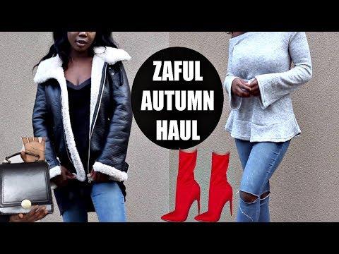 ZAFUL Autumn Clothing Try-On Fashion Haul | MsDebDeb
