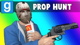 Gmod Prop Hunt Funny Moments - Best Combo Ever! (Garry