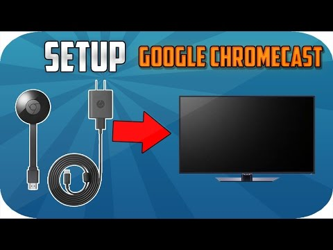 How to setup Google Chromecast: 2nd Gen to HDTV