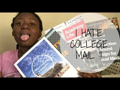I HATE COLLEGE MAIL !