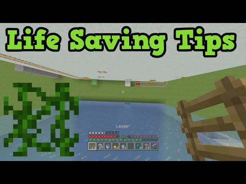 Minecraft PVP - 5 Parkour Tips To Save Your Life
