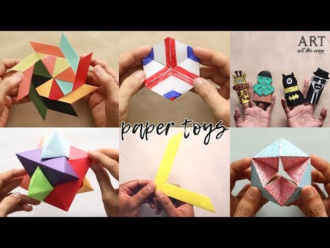 6 Cool And Easy DIY Toys For Kids | Summer Holidays Crafts