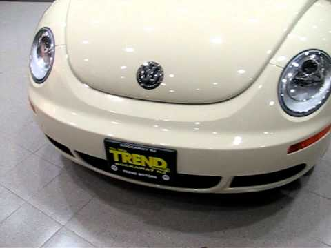 2008 Volkswagen New Beetle Convertible SE (stk#P2308) for sale at Trend Motors VW in Rockaway, NJ