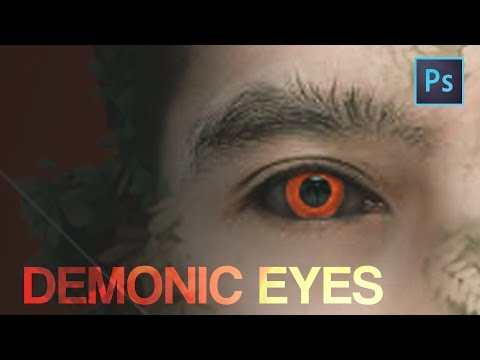 [Photoshop Tutorial] How to make Demonic Eyes Effect - Very Easy