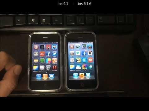 iphone 3gs, ios 4.1 vs 6.1.6