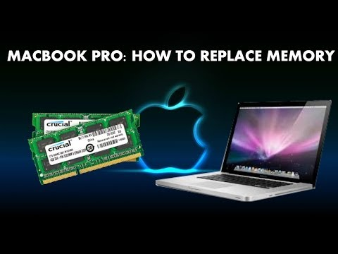 How to replace the memory in a MacBook Pro - Fix Beeping Apple Ram Error