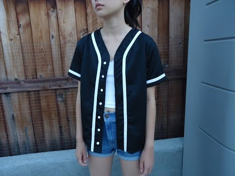 DIY: Baseball Jersey from scratch