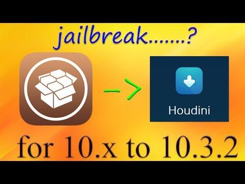 iOs 10.x Light Jailbreak Houdini