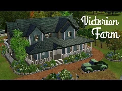 Sims 3 House Building - Victorian Farm