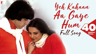 Yeh Kahaan Aa Gaye Hum Song, ये कहाँ आ गए हम, Silsila , Amitabh Bachchan , Rekha , Lata Mangeshkar