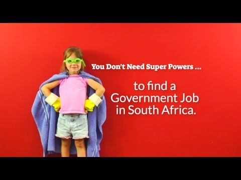 How To Find Government Jobs in South Africa [in 15s]