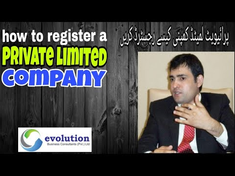How to register a private limited company in Pakistan