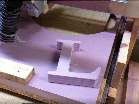 CNC Cutting Foam Letters