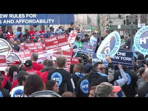 DC 37 Supports Affordable Housing