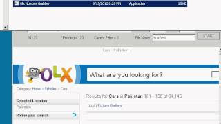 Get phone numbers from OLX