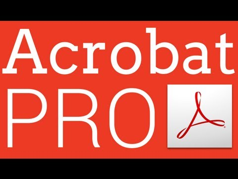 Editing Text in a PDF document in Adobe Acrobat Pro