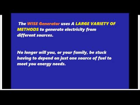 Energy on demand: Utilize many forms of potentially FREE Energy with Energy on Demand generator