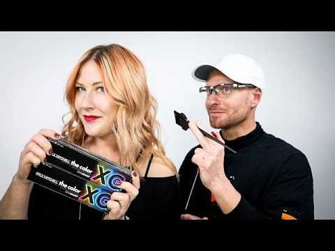 BLORANGE Hair Color Tutorial | Balayage Hand Painting + Multi Dimensional Toning