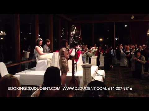 Casey and Ben Wedding Reception Confluence Park Boathouse Columbus Ohio 12/21/13