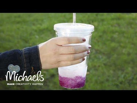 Easy Glitter Tumbler | Michaels