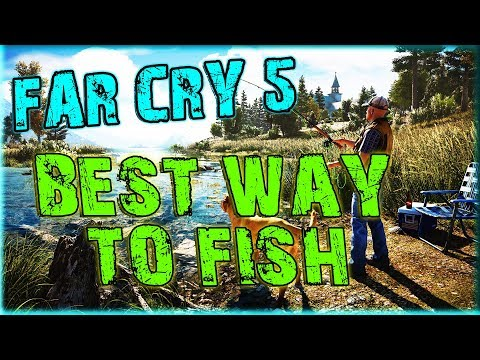 BEST WAY TO FISH IN FAR CRY 5 - YOU WON'T BELIEVE HOW MANY FISH YOU WILL CATCH