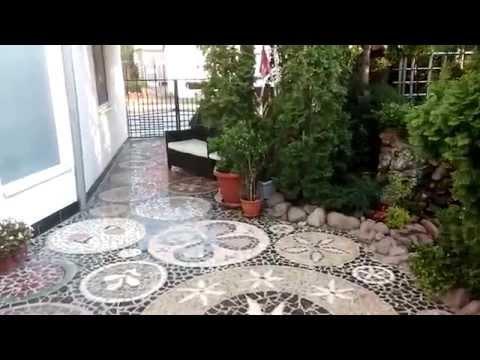 Outdoor Marble Floor Mosaic