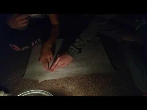 Paper Ouija board