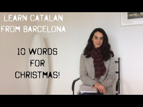 Learn Catalan: 10 words for Christmas!