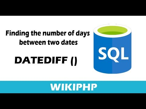 How  to finding the number of days  between two dates