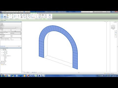 Revit Tips - Arched Lintel without array