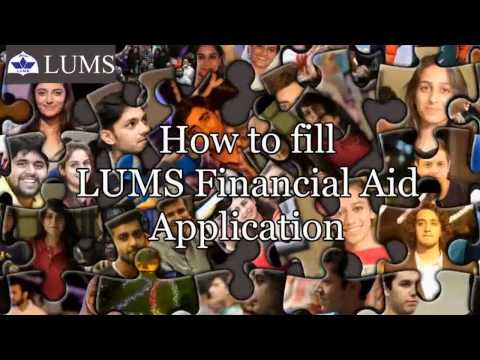 Financial Assistance Online Application Tutorial