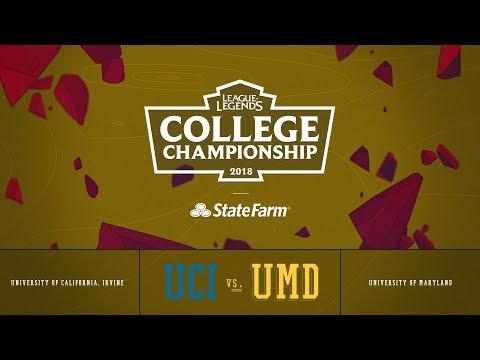 UC Irvine vs Maryland | Semifinals Game 1 | 2018 College Championship | UCI vs UMD