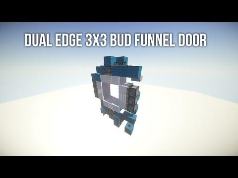 Dual Edge 3x3 BUD Funnel Door