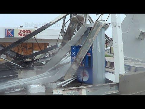 South Naples, FL Hurricane Irma Eyewall & Damage 9/10/2017