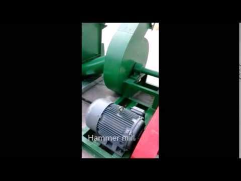 Sawdust Machine, Pre-equipment to make wood pellets or wood briquettes.