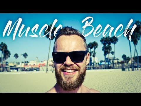 Muscle Beach Workout | Fitness Vlog | Venice Beach, California | 2017