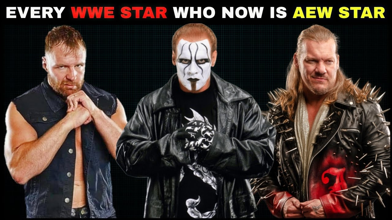 WWE Superstars Who Are Now AEW Superstars Dean Ambrose Sting Jericho & More | WWE TO AEW 2020 ||