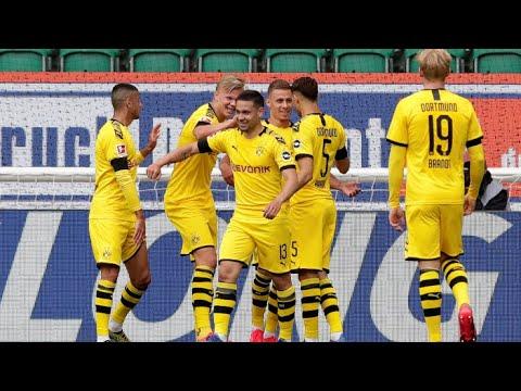 WOLFSBURG - BORUSSIA DORTMUND 0-2 - Male Haaland, Jadon Sancho Booooom!!