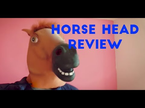 ★★★★★ Horse Head Mask Review Halloween Party Cosplay Mask Costume