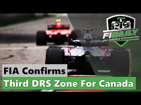 F1 Daily: More DRS In Canada