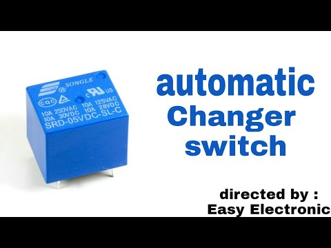 Automatic changer switch