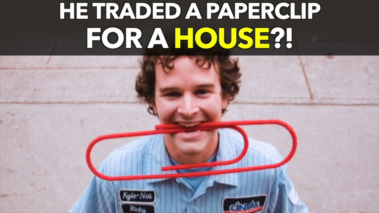 He Traded a Paperclip for a House?!