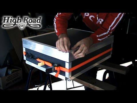 Custom roadcase build time lapse