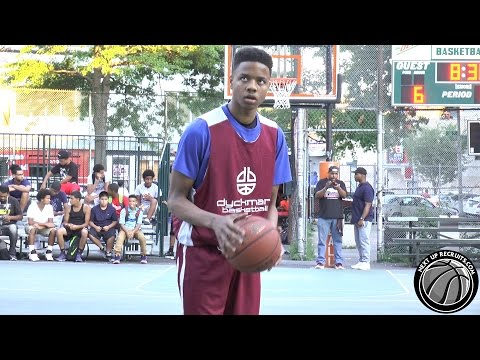 Markelle Fultz scores 51 points with NO jumpers in Dyckman Park - 2015 Big Strick Classic Scrimmage