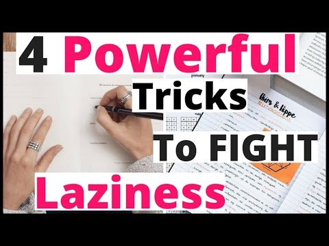 How To Overcome Laziness While Studying?Study Tips For Exams in Hindi|Smart Study|Motivational Video
