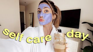 SELF CARE DAY: face mask & my fave products